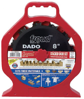 freud dado blade. resharpening blades for smooth, splinter-free dadoes the perfect dado set fine cabinetmaker or weekend woodworker, freud sd208 produces blade a
