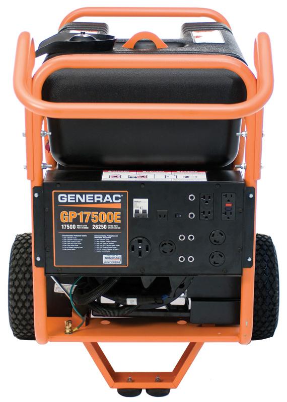 How much do Generac generators weigh?
