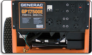 amazon com generac 5735 gp17500e 17500 running watts 26250 rh amazon com Generac Propane Generators Generac Engines