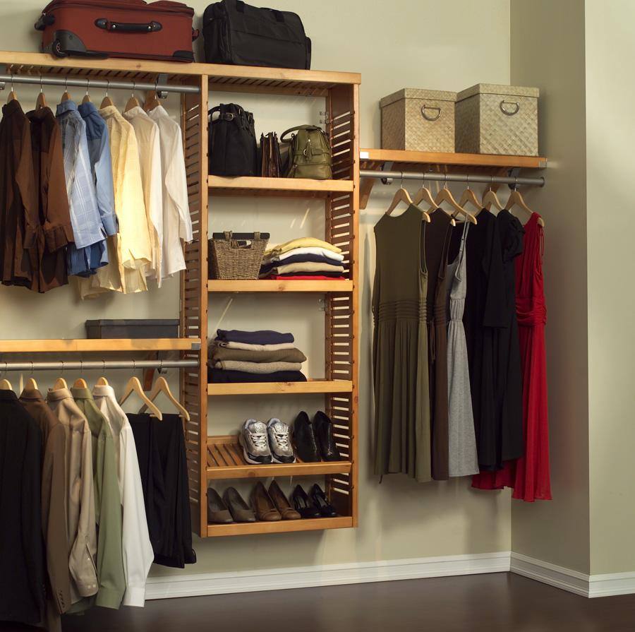 view larger - Closet Shelving