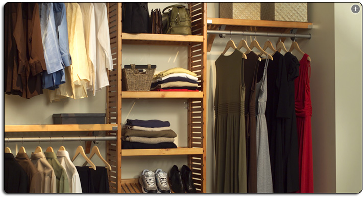 Crafted From Premium Materials, This John Louis Home Closet System Offers A  Dependable, Easy To Customize Storage Solution.