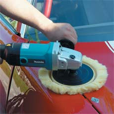 Makita 9227cx3 7 Inch Hook And Loop Electronic Polisher