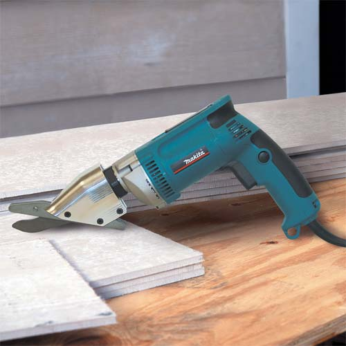 Cutting Cement Board : Makita js variable speed fiber cement shear kit