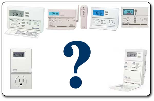 Compare LUX Programmable Thermostats