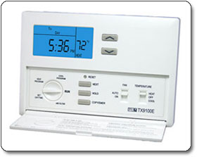 Lux TX9100E Smart Temp Programmable Thermostat
