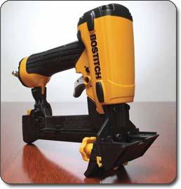 LHF2025K Flooring Stapler - Overmolded rubber grip