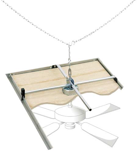 Westinghouse Lighting 0107000 Saf-T-Grid for Suspended Ceilings - Ceiling Fans - Amazon.com
