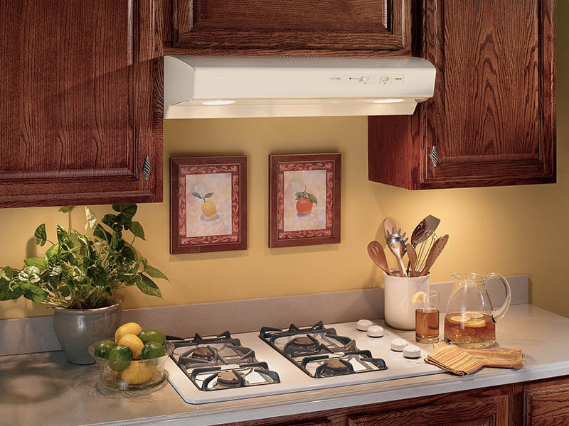 charming Kitchen Exhaust Fan Under Cabinet #9: Broan Allure I 30-Inch Under Cabinet Range Hood