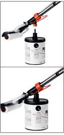 Black & Decker BDPR400 Pivoting RapidRolle: EZ Fill System