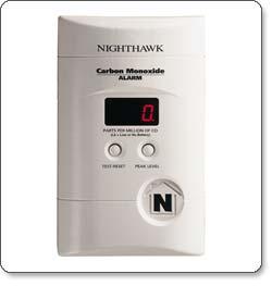 Kidde KN-COPP-3 Nighthawk Carbon Monoxide Alarm