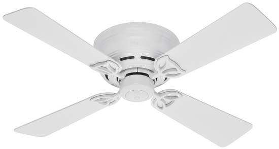Hunter 23860 low profile lll 42 inch 4 walnut blades ceiling fan hunter low profile iii 42 inch ceiling fan aloadofball Choice Image