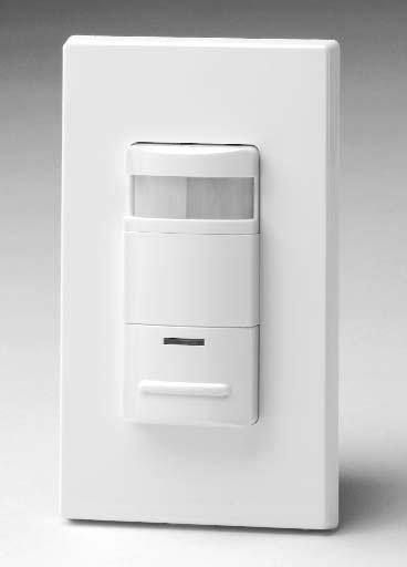 leviton ods10 id decora 120 277 volt wall switch occupancy sensor ods10 id decora wall switch occupancy sensor