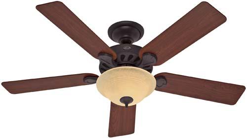 Hunter 23723 52 Inch Five Minute Ceiling Fan New Bronze