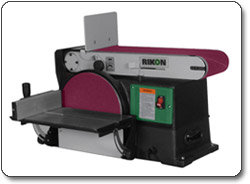 RIKON 50-120 6- by 48-Inch Belt/10-Inch Disc Sander