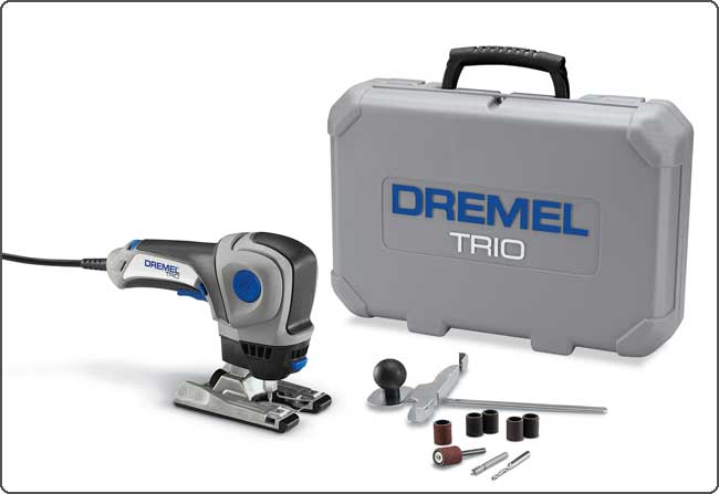 Dremel 6800 01 Trio Rotary Tool Kit Power Rotary Tools