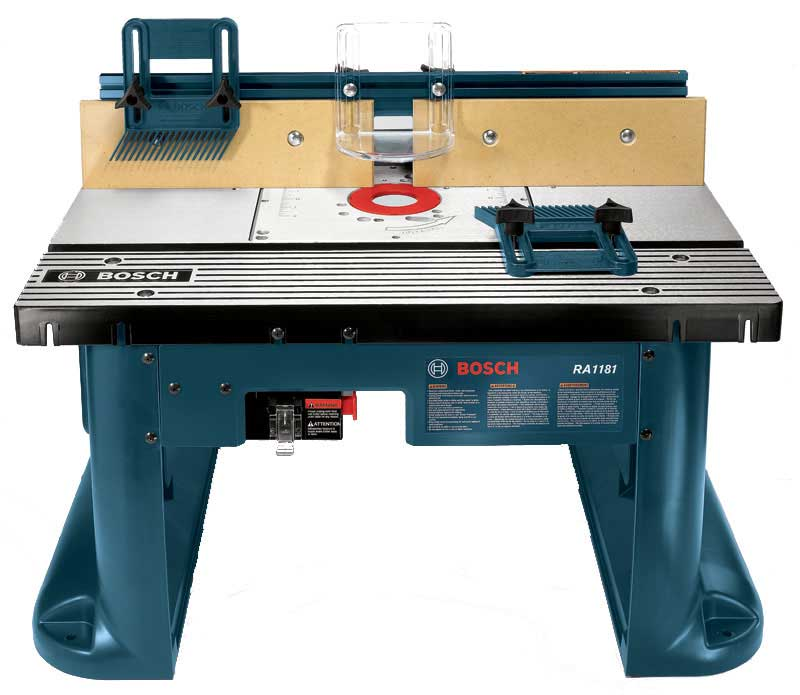 The Bosch RA1181 Benchtop Router Table