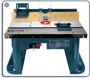 Bosch ra1181 benchtop router table amazon tools home improvement the ra1181 fits a variety of routers and features featherboards that adjust for a range of stock sizesew larger keyboard keysfo Images