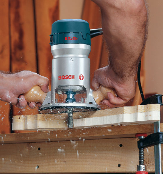 Power of Bosch 1617EVS 2-1/4 HP Variable-Speed Router