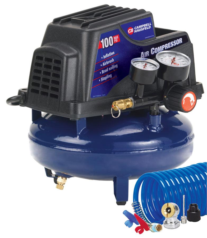Campbell Hausfeld Air Tank : Air compressor gallon pancake oilless pump psi w