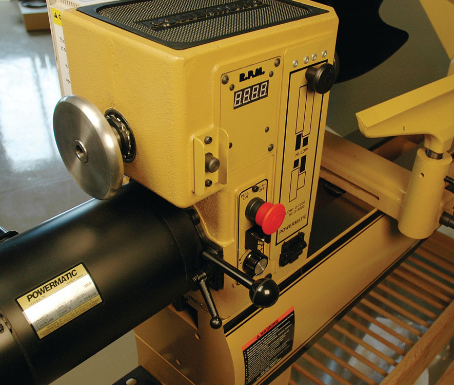 Powermatic 1352001 Model 3520b 20x35 Inch Wood Lathe With