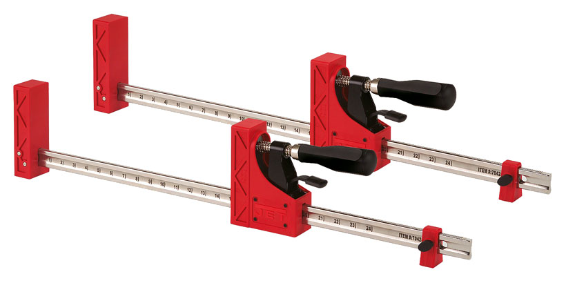 Jet 70424-2 24-Inch Parallel Clamp 2 Pack - Bar Clamps ...