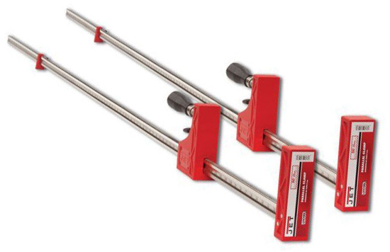 Jet 70482 2 82 Inch Parallel Clamp 2 Pack Bar Clamps Amazon Com