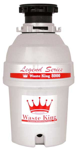 Image result for waste king garbage 8000