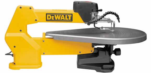 Dewalt dw788 1 3 amp 20 inch variable speed scroll saw for Table th no scroll