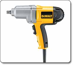 DEWALT (DW292) 1/2-Inch Impact Wrench with Detent Pin Anvil