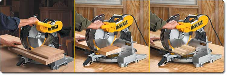 DEWALT 12-Inch Double-Bevel Compound Miter Saw