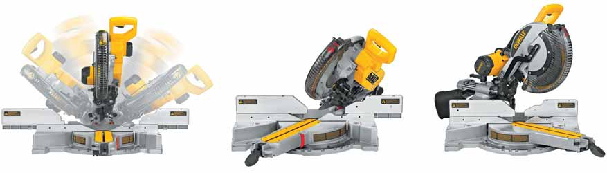 DEWALT 12-Inch Double-Bevel Sliding Compound Miter Saw