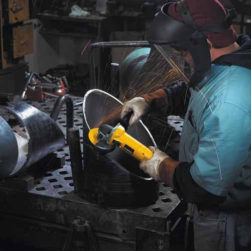 DEWALT D28110 4-1/2-Inch Small Angle Grinder - Power Angle