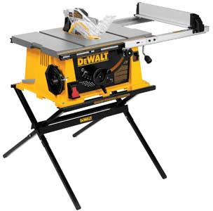 Dewalt Dwe7490x 10 Inch Job Site Table Saw With 28 1 2
