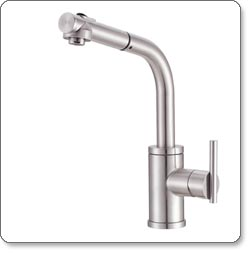 Danze Parma Single-Handle Pull-Out Kitchen Faucet
