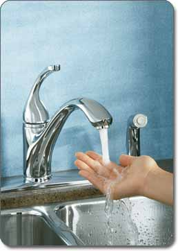 Forte Kitchen Faucet - Versatile design