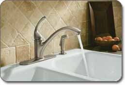 Forte Kitchen Faucet - Vibrant finish