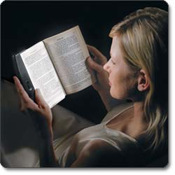 LightWedge Paperback Book Light