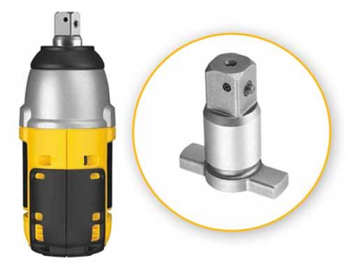 dewalt air impact wrench. dewalt dc820ka 1/2-inch 18-volt cordless xrp impact wrench kit dewalt air