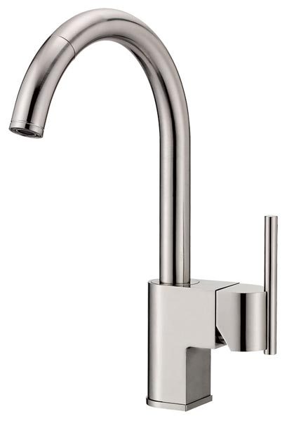 Danze D457144 Como Single Handle Pull Down Kitchen Faucet Chrome