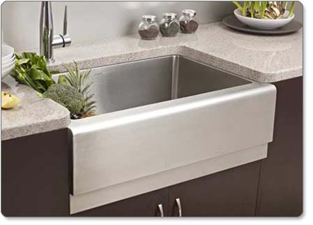 Houzer EPG 3300 Epicure Farmhouse Kitchen Sink