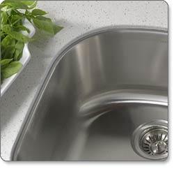 Houzer MS-2409 Medallion Designer Undermount Kitchen Sink