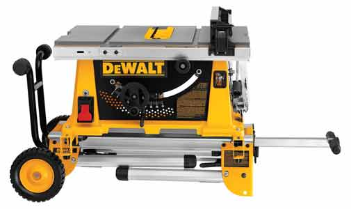 Dewalt Dw744xrs 10 Inch Job Site Table Saw With Rolling