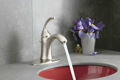 Kohler Forte K 10215 4 Bn Single Handle Single Hole Or