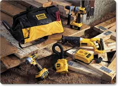 18-Volt DEWALT XRP Lithium-Ion Four-Tool Cordless Combo Kit
