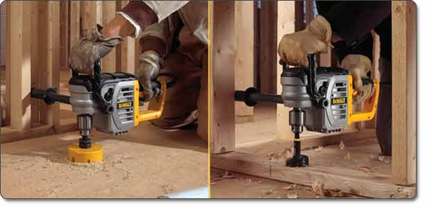 DEWALT (DWD460K) 1/2-Inch VSR Stud Joist Drill Kit with Clutch and Bind-Up Control