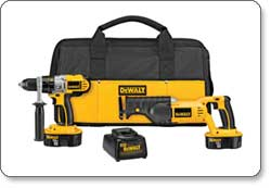 DEWALT 18-Volt XRP NiCad Hammerdrill/Reciprocating Saw Combo Kit