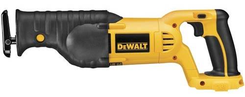 dewalt 18 volt xrp reciprocating saw