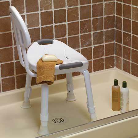 Amazon.com: Safety First S1F600W Designer Tub and Shower Chair ...
