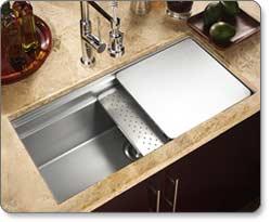 Houzer NVS 5100 Novus Undermount Kitchen Sink
