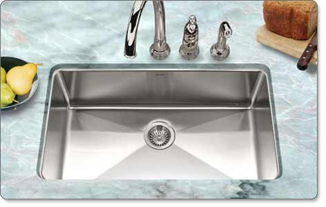 Houzer Nog 4150 1 Nouvelle Gourmet Undermount Kitchen Sink